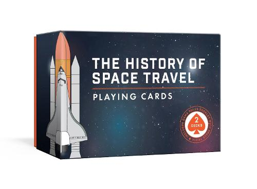 History of Space Travel Playing Card Set: Two Decks with Game Rules