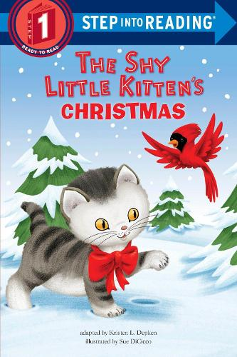 The Shy Little Kitten's Christmas - Step into Reading (Paperback)