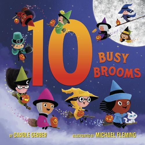 10 Busy Brooms (Board book)