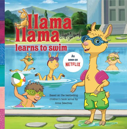 Llama Llama Learns To Swim (Paperback)