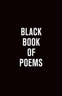 Black Book of Poems (Paperback)