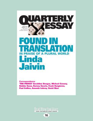 linda jaivin quarterly essay