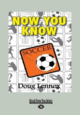 Now You Know Soccer (Paperback)