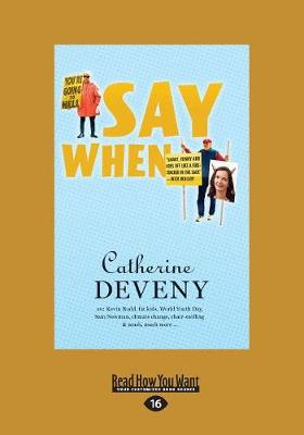 Say When (Paperback)