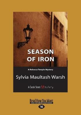 Season of Iron: A Rebecca Temple Mystery (Paperback)