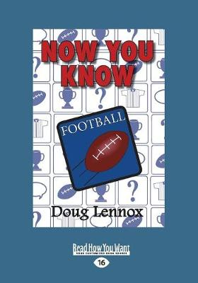 Now You Know Football (Paperback)
