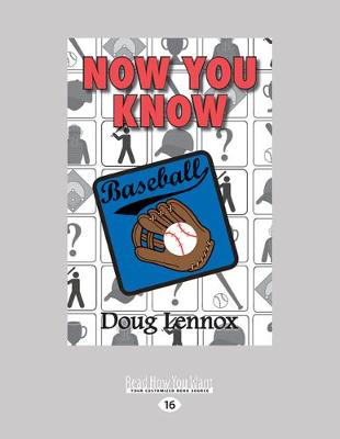 Now You Know Baseball (Paperback)