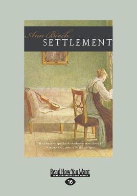 Settlement (Paperback)