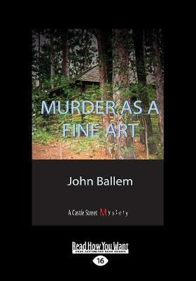 Murder as a Fine Art (Paperback)