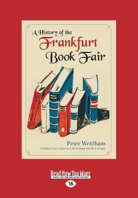 A History of the Frankfurt Book Fair (Paperback)