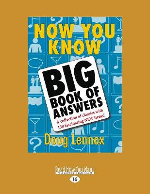 Now You Know Big Book of Answers (Paperback)