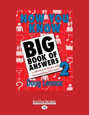 Now You Know Big Book of Answers 2: A Collection of Classics with 150 Fascinating New Items (Paperback)
