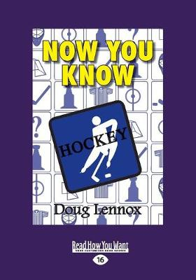 Now You Know Hockey: The Book of Answers (Paperback)