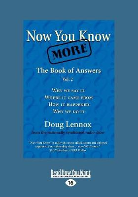 Now You Know More: The Book of Answers, Vol. 2 (Paperback)