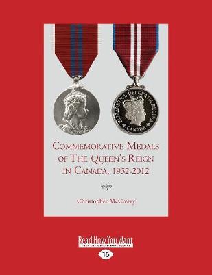 Commemorative Medals of The Queen's Reign in Canada, 1952-2012 (Paperback)