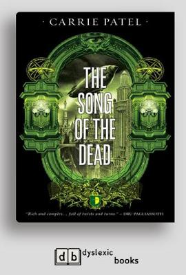 The Song of the Dead: Book III Of The Recoletta Series (Paperback)