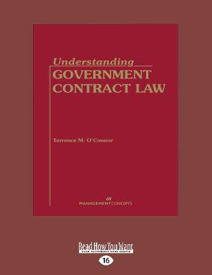 Understanding Government Contract Law (Paperback)