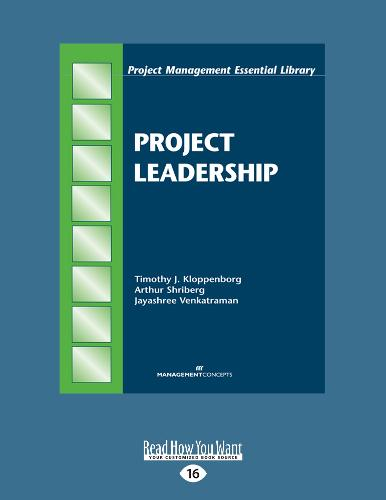 Project Leadership (Paperback)