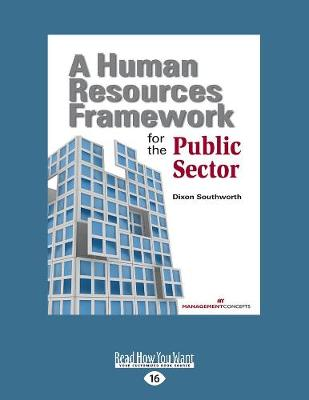 A Human Resources Framework for Public Sector (Paperback)