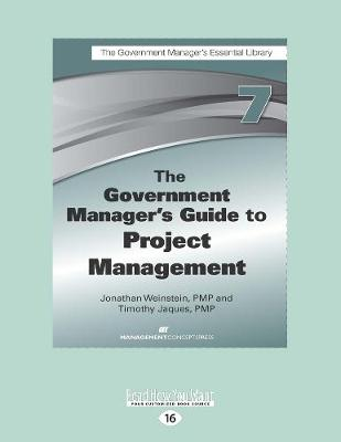 The Government Manager's Guide to Project Management (Paperback)