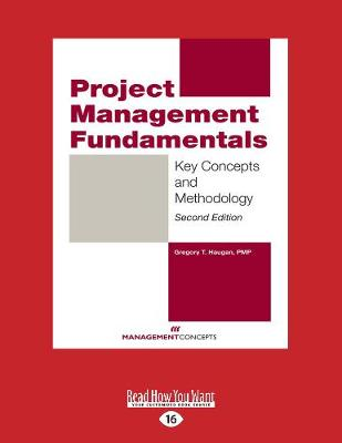 Project Management Fundamentals: Key Concepts and Methodology (Paperback)