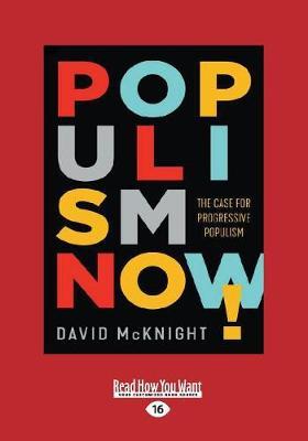 Populism Now! (Paperback)