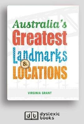 Australia's Greatest Landmarks and Locations (Paperback)