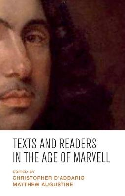 Texts and Readers in the Age of Marvell (Hardback)