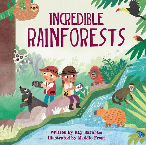 Look and Wonder: Incredible Rainforests - Look and Wonder (Hardback)