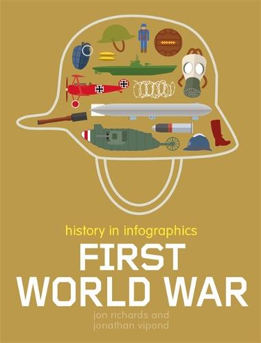 History in Infographics: First World War - History in Infographics (Hardback)