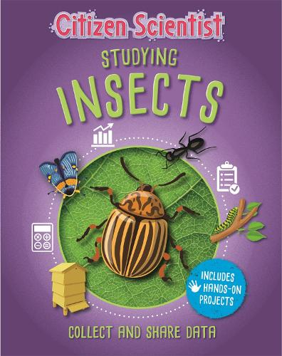 Citizen Scientist: Studying Insects - Citizen Scientist (Hardback)