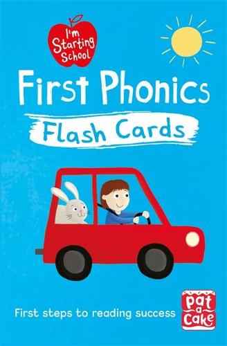 I'm Starting School: First Phonics Flash Cards: Essential flash cards for all English phonics sounds - I'm Starting School