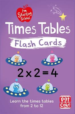 I'm Starting School: Times Tables Flash Cards: Essential flash cards for times tables from 1 to 12 - I'm Starting School