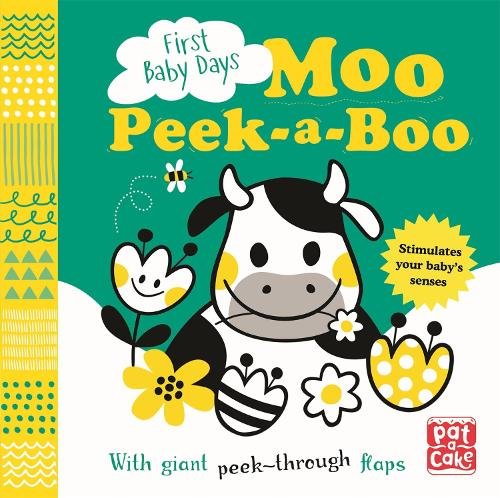 First Baby Days: Moo Peek-a-Boo: A board book with giant peek-through flaps - First Baby Days (Board book)