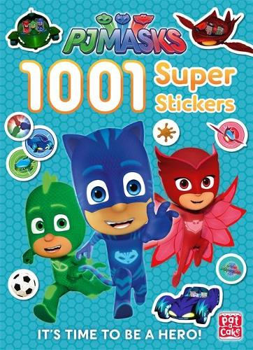 Cover PJ Masks: 1001 Super Stickers - PJ Masks