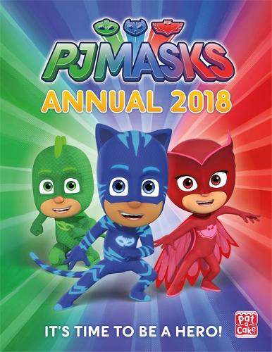 Cover PJ Masks: PJ Masks Annual 2018 - PJ Masks
