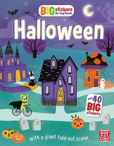 Big Stickers for Tiny Hands: Halloween: With scenes, activities and a giant fold-out picture - Big Stickers for Tiny Hands (Paperback)