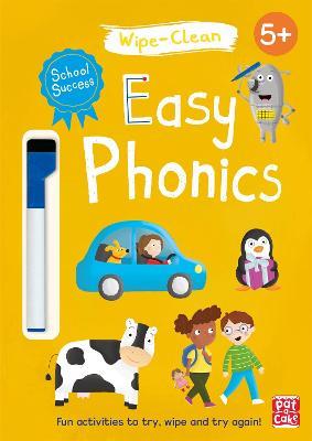 School Success: Easy Phonics: Wipe-clean book with pen - School Success (Paperback)
