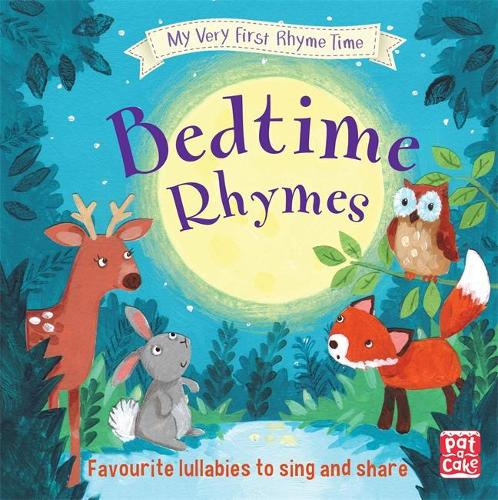 Cover My Very First Rhyme Time: Bedtime Rhymes: Favourite bedtime rhymes with activities to share - My Very First Rhyme Time
