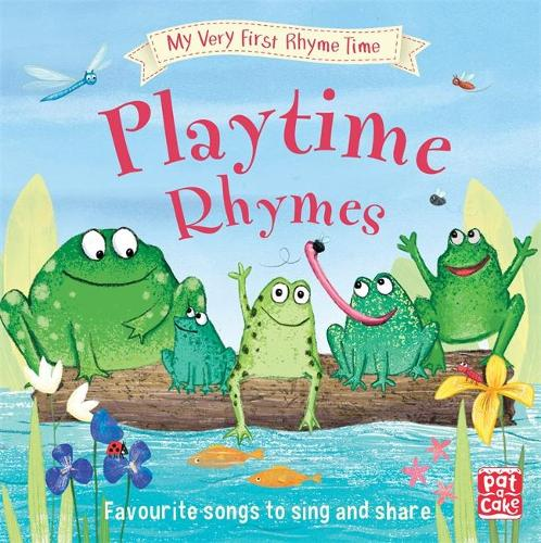Cover My Very First Rhyme Time: Playtime Rhymes: Favourite playtime rhymes with activities to share - My Very First Rhyme Time