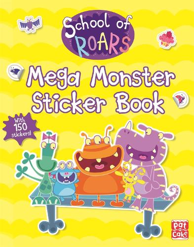 Mega Monster Sticker Book - School of Roars (Paperback)