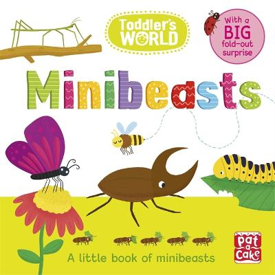 Toddler's World: Minibeasts: A little board book of minibeasts with a fold-out surprise - Toddler's World (Board book)