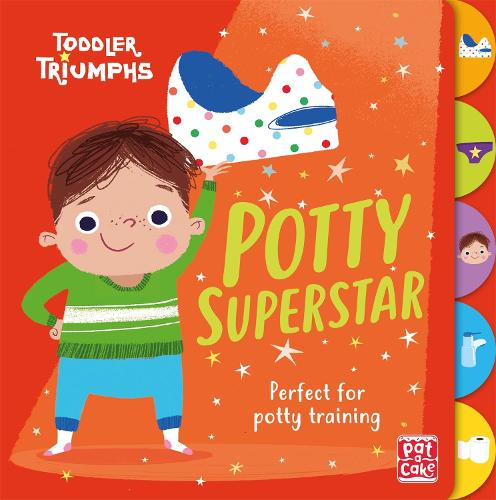 Toddler Triumphs: Potty Superstar: A potty training book for boys - Toddler Triumphs (Board book)