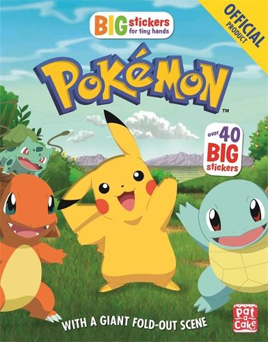 The Official Pokemon Big Stickers for Tiny Hands - Pokemon (Paperback)