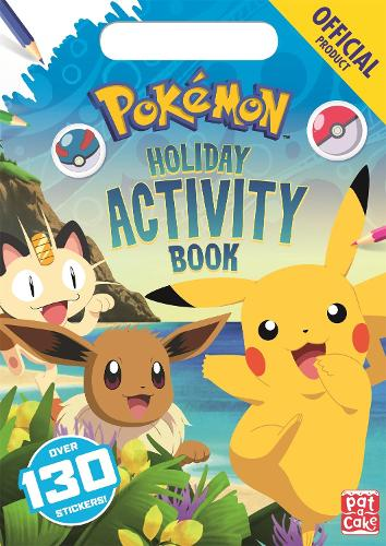 The Official Pokemon Holiday Activity Book - Pokemon (Paperback)