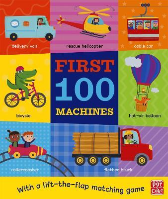 First 100 Machines - First 100 (Board book)