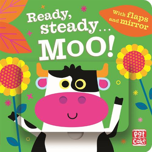 Ready Steady...: Moo!: Board book with flaps and mirror - Ready Steady... (Board book)