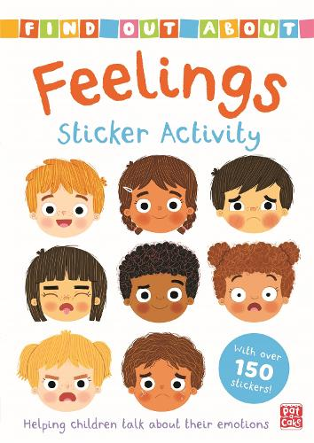 Find Out About: Feelings Sticker Activity: Helping children talk about their emotions - with over 150 stickers! - Find Out About (Paperback)