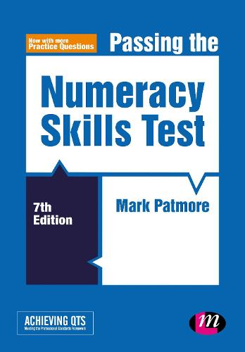 Passing the Numeracy Skills Test - Achieving QTS Series (Paperback)