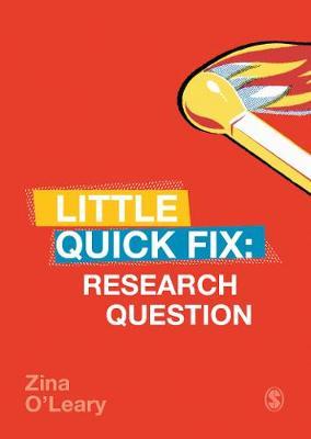 Research Question: Little Quick Fix - Little Quick Fix (Paperback)
